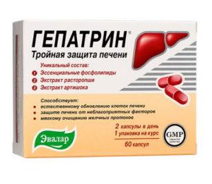 Обзор препарата Гепатрин для лечения печени