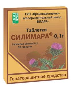 Обзор препарата Силимар для печени