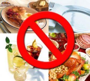 Правильное питание при холецистите